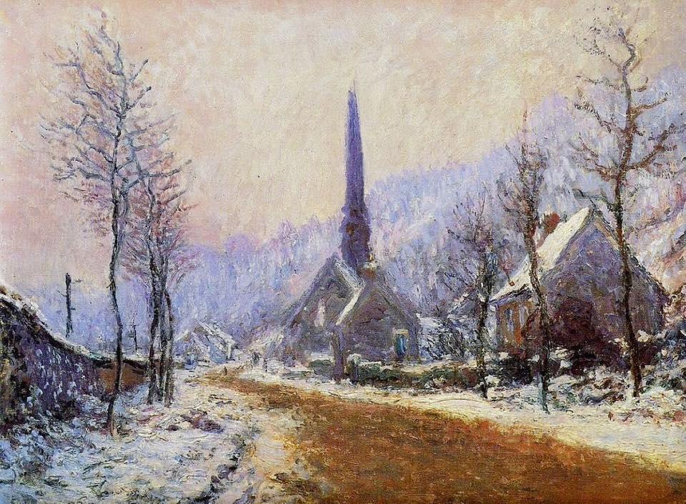 EgliseJeufosse_Monet