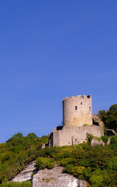 Balade 29 juillet 2020 - Vieux chateau de La Roche-Guyon